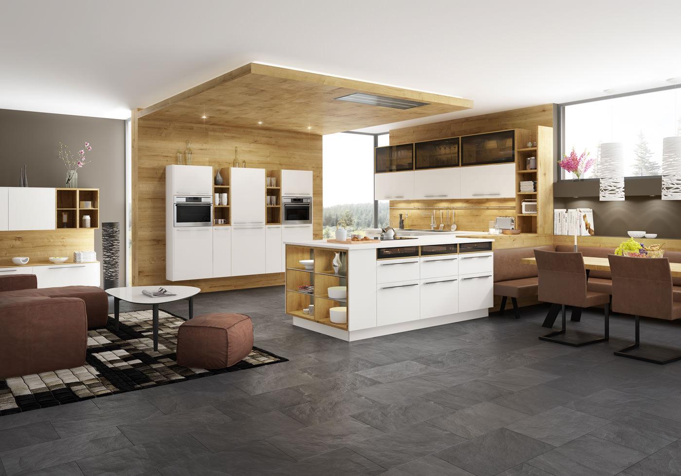 Moderne küche von fm küchen